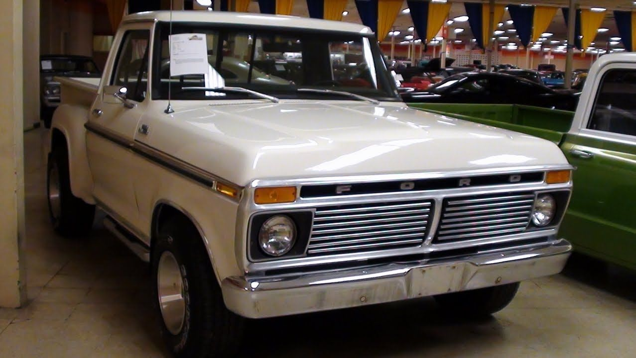 1954 F100 Stepside 4x4 Ford Pick Me Up Baby Pinterest 1277x720