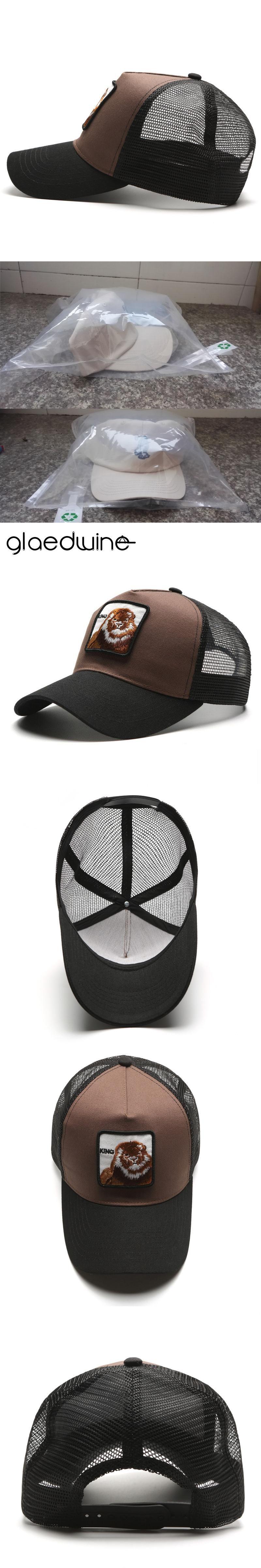 Glaedwine 2017 snapback trucker mesh cap women baseball cap men women  casquette gorras planas King snapback caps dad hat for men 7532b550b1a