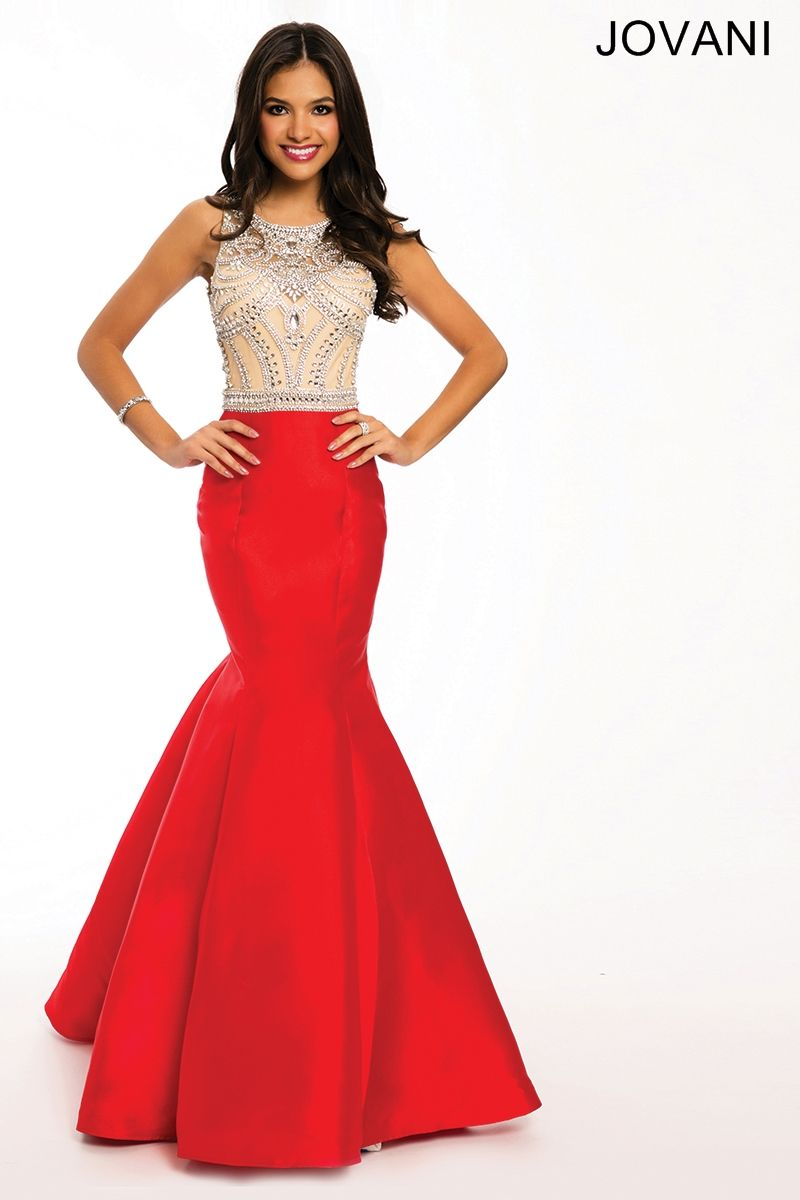 Jovani Open Back Mermaid Gown 22623 (Color In-Stock: Royal)   Prom ...