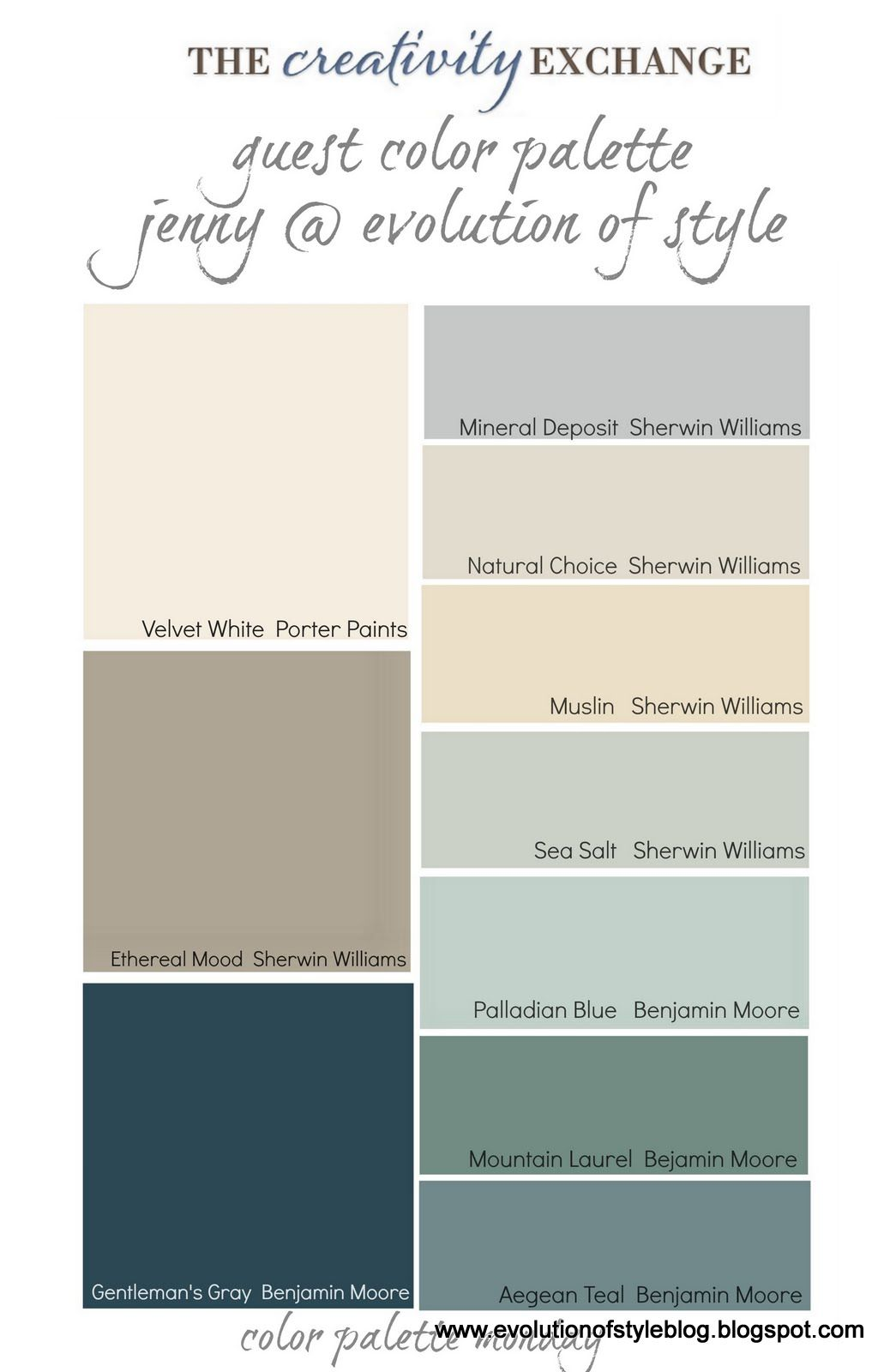Benjamin moore palladian blue bathroom - Basements