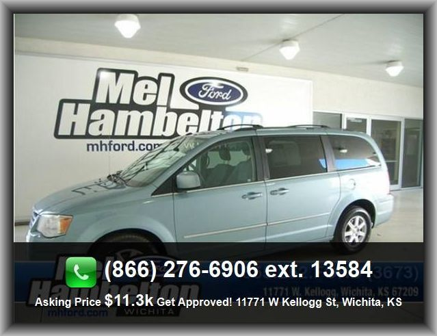 2009 Chrysler Town And Country Touring Mini Van Am Fm Satellite