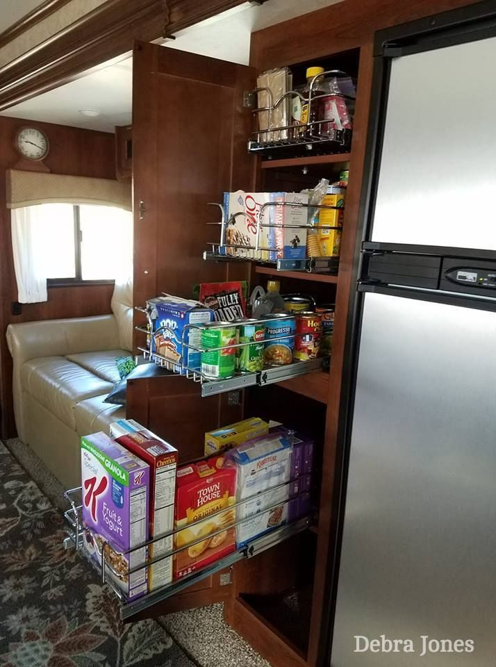 5 RV Pantry Cabinet Problems & Solutions   RV Inspiration