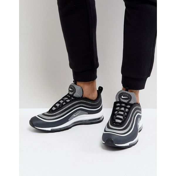 Nike Air Max 97 Ultra 17 Trainers In Black 918356 001 3 040 585 Idr Liked On Polyvore Featuring Men S Nike Air Max 97 Black Nike Sneakers Mens Nike Shoes