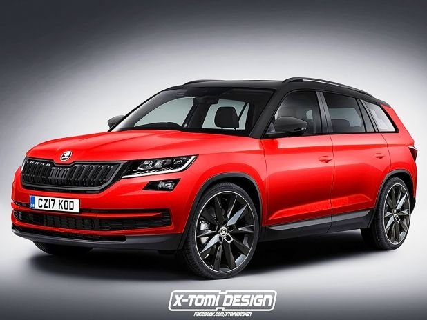 skoda kodiaq sportline 2017 preis motoren. Black Bedroom Furniture Sets. Home Design Ideas