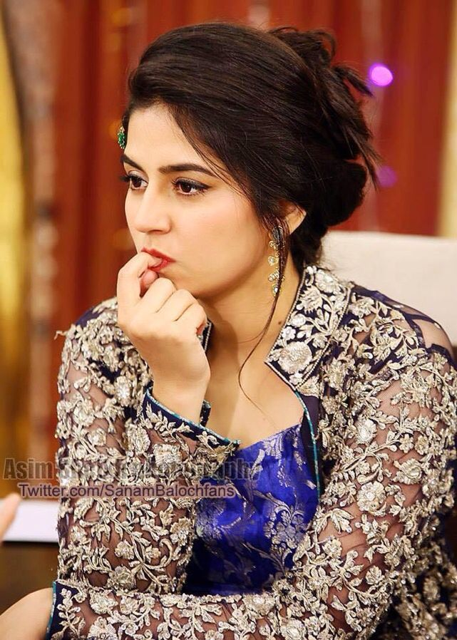 Naughty actress Sanam Baloch