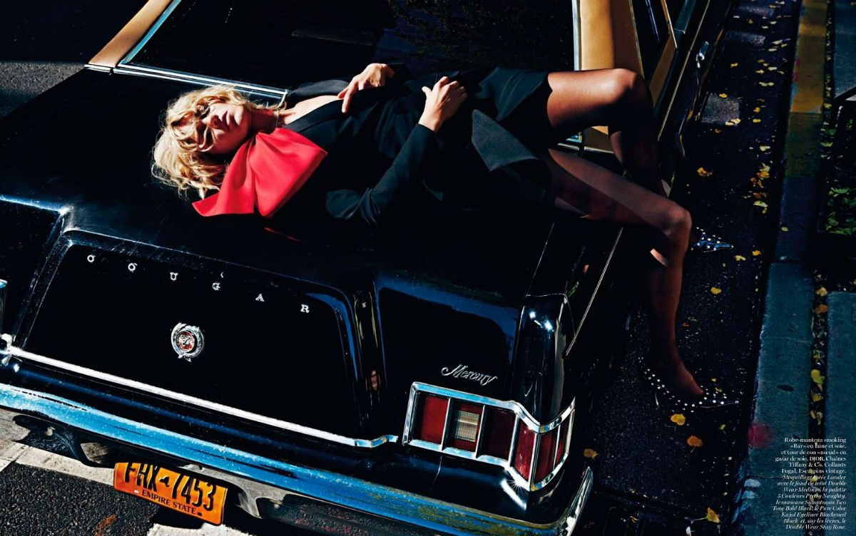 ☆ Anja Rubik | Photography by Mario Sorrenti | For Vogue Magazine France | February 2013 ☆ #anjarubik #mariosorrenti #vogue #2013