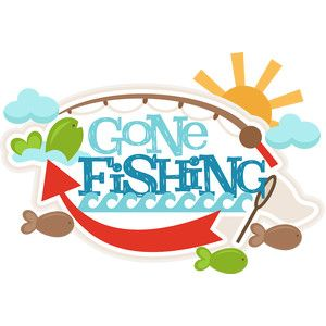 i think i m in love with this design from the silhouette design rh pinterest com gone fishing clipart free gone fishing clip art free