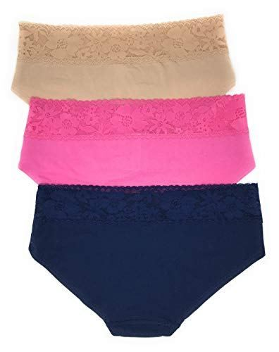 767f5b2405 Victoria s Secret Lace Waist Hiphugger Panty Set of 3 Clout Wear in ...