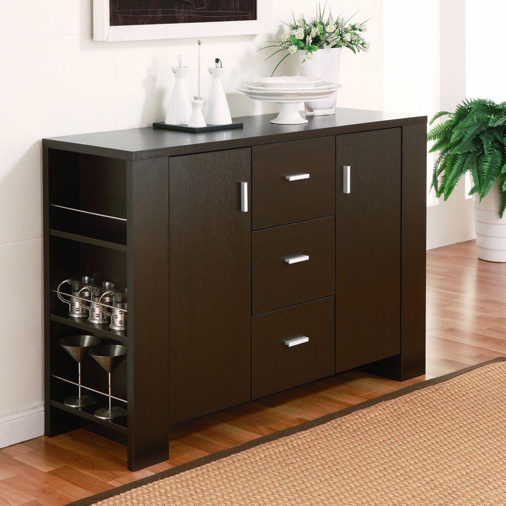 Furniture Of America Clayton Cappuccino-finish Dining