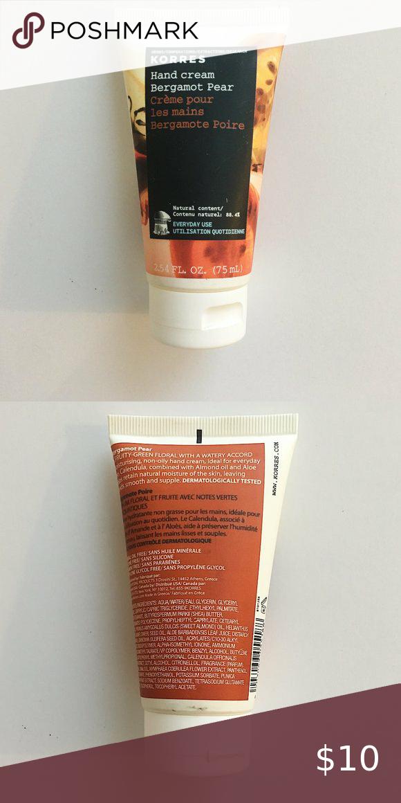 Korres Hand Cream Bergamot Pear 75 ml