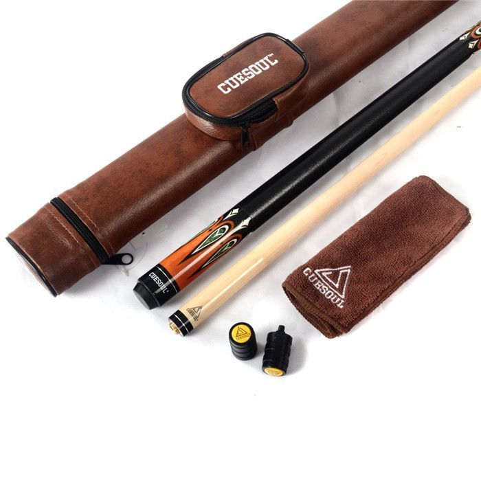 Cuesoul Pool Cue Stick Billiard Cue With Case 13mm Cue Tip