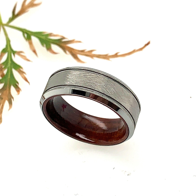 Tungsten Ring, Men's Tungsten Ring, Mens Wedding Band