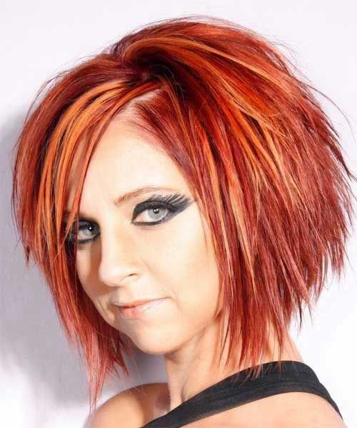 15 Best Short Funky Bob Hairstyles Hair Pinterest Choppy Hair