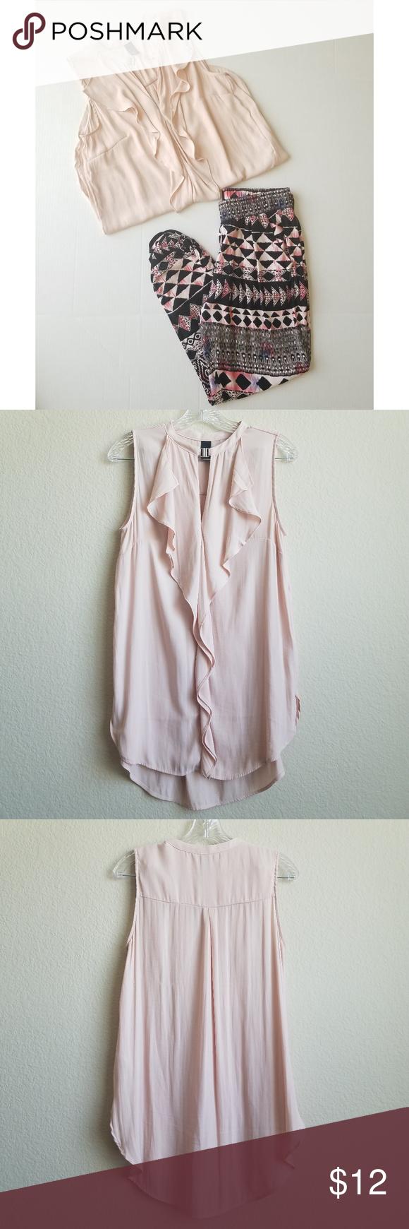 H&m dusty pink dress  BundleHuM sleeveless top u Mudd pants  My Posh Picks  Pinterest