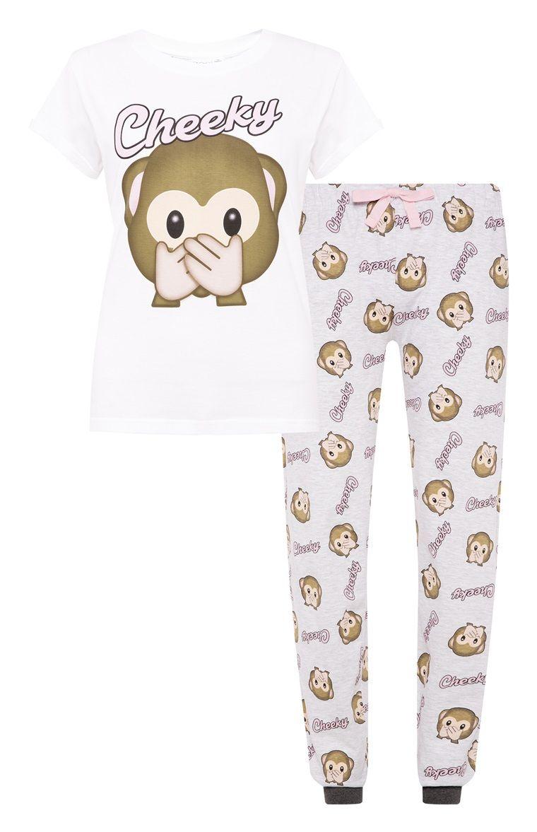 477ab7e3ac Pijama con de monos