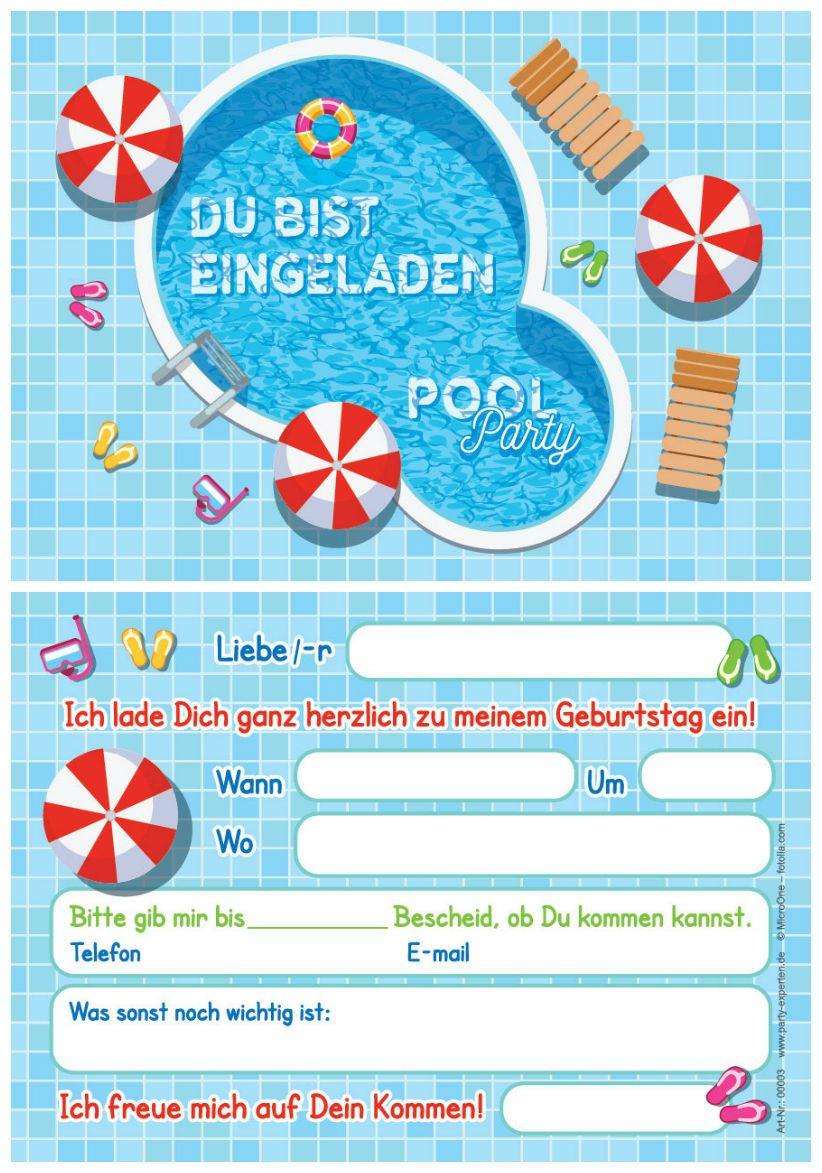 Details zu EINLADUNGEN ZUR FUSSBALL-PARTY - 6 Einladungskarten zum ...
