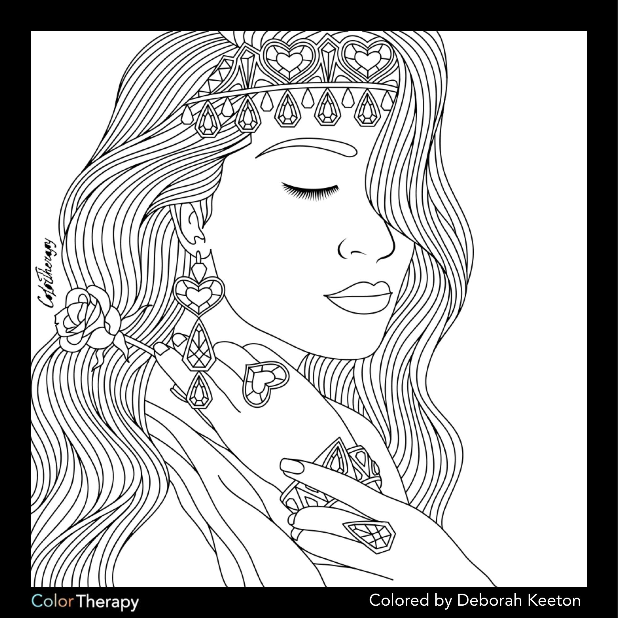adult coloring pages outdoors - photo#50