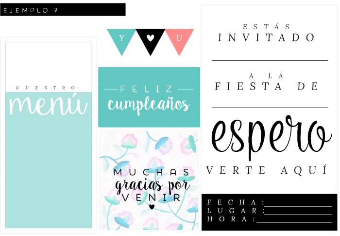 kits fiesta imprimibles gratis | Free printables | Pinterest ...