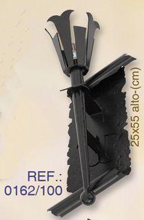 Aplique En Hierro Forjado Mas Modelos En Www Rustiluz Com Apliques Rusticos Apliques Lamparas De Pared Iluminacion Rus Rustico Apliques Lamparas