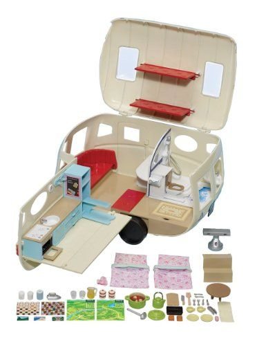 Amazon.com: Calico Critters Caravan Family Camper: Toys & Games