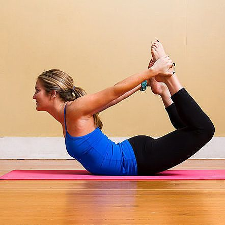 debloat with yoga 4 poses to help  exercise restorative