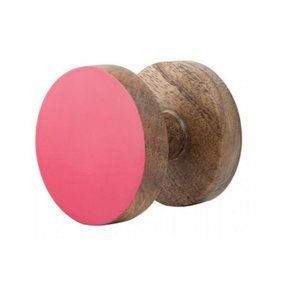 Wooden wall hook. Mix and match with different colours & styles. - www.koop.co.nz