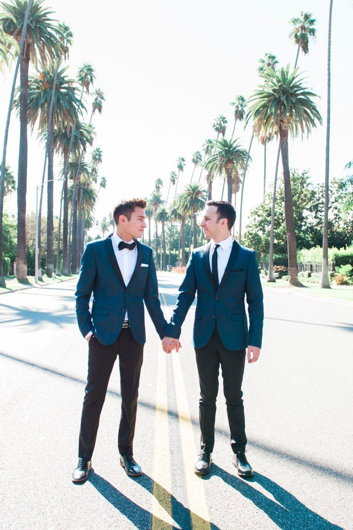 This Sweet and Small Beverly Hills Wedding All Started With a New Year's Eve Proposal