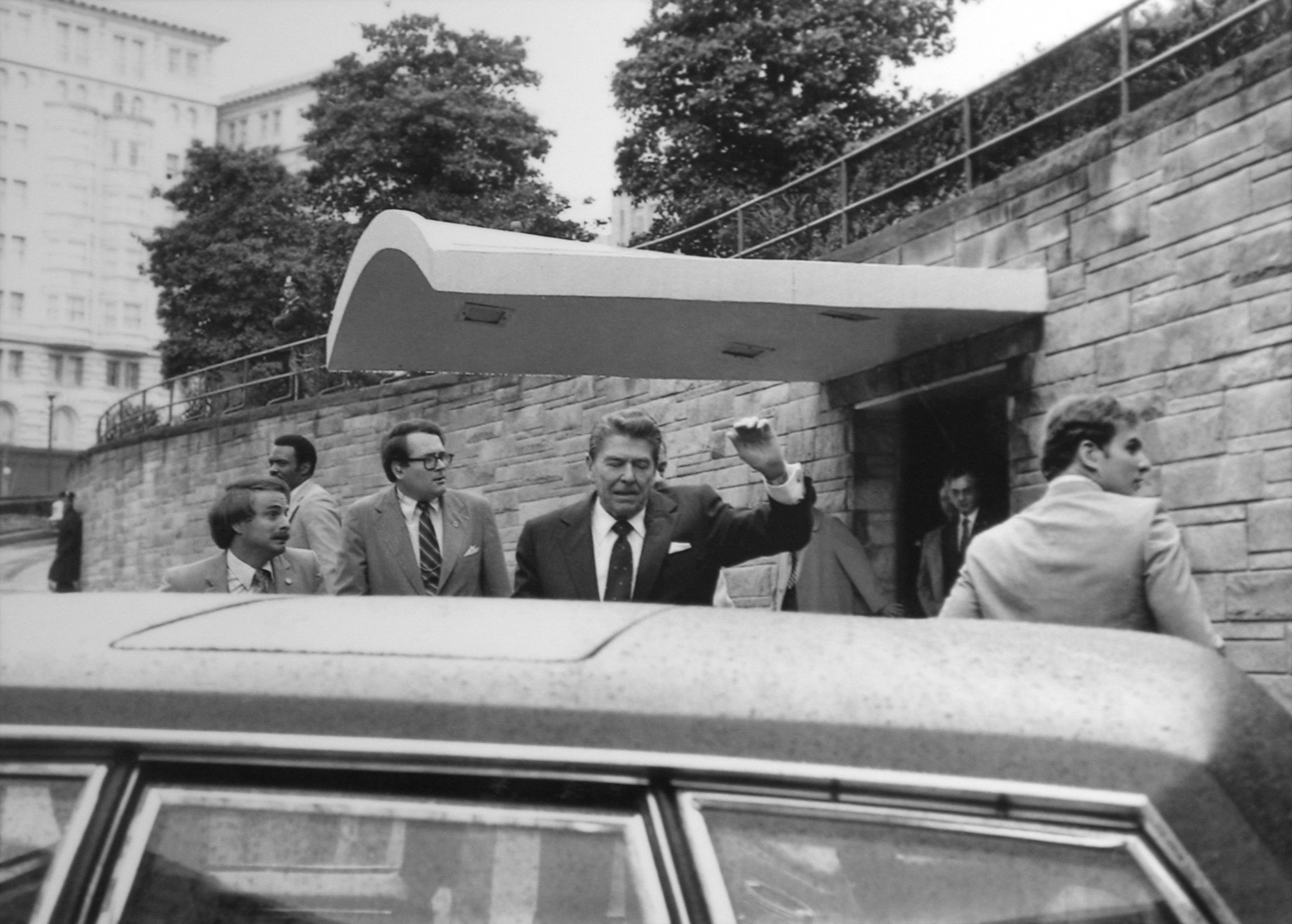 The attempted assassination of President Ronald Reagan