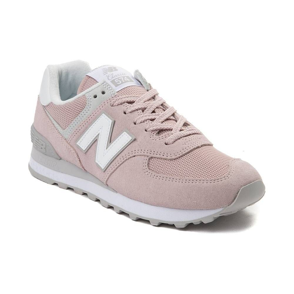 Womens New Balance 574 Classic Athletic Shoe - Pink - 401658 ...