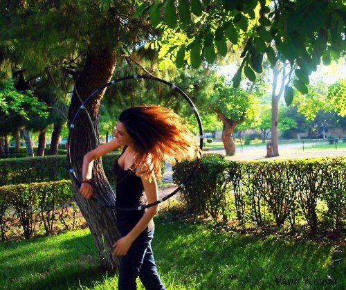 hoopdance in motion=beautiful delight!