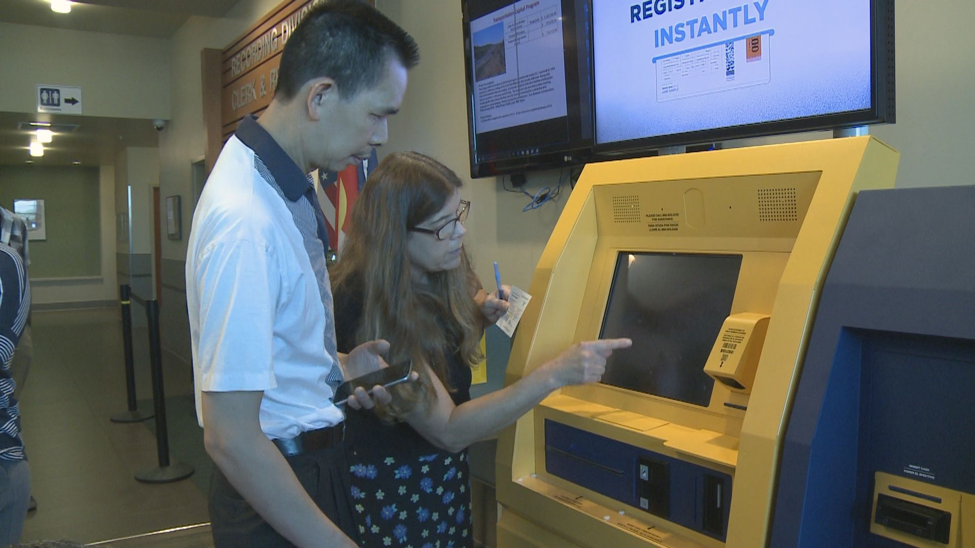 New selfservice kiosk at DMV aims to reduce wait times