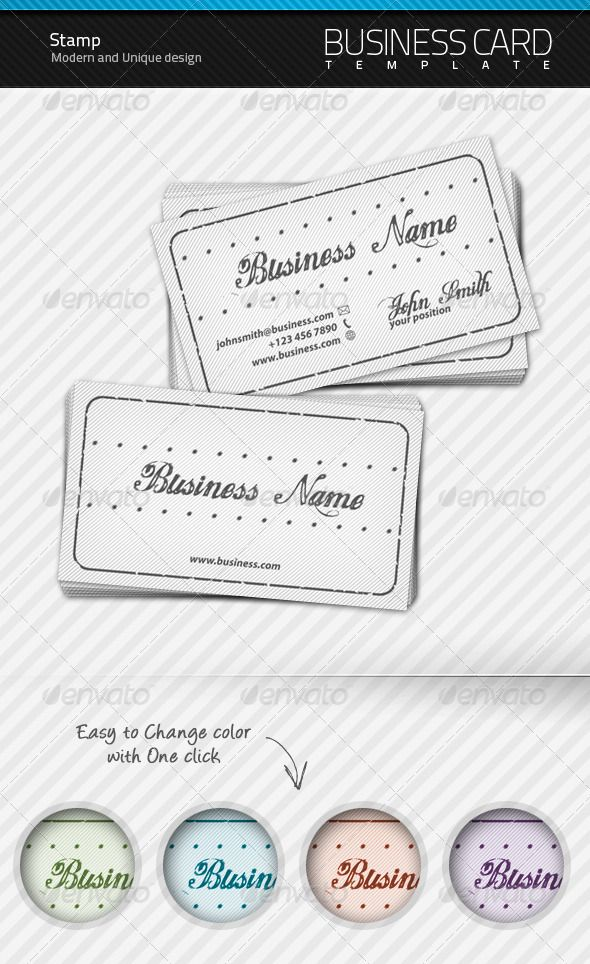 Stamp Business Card Bleed Size 375x225 In 025 In Bleeds