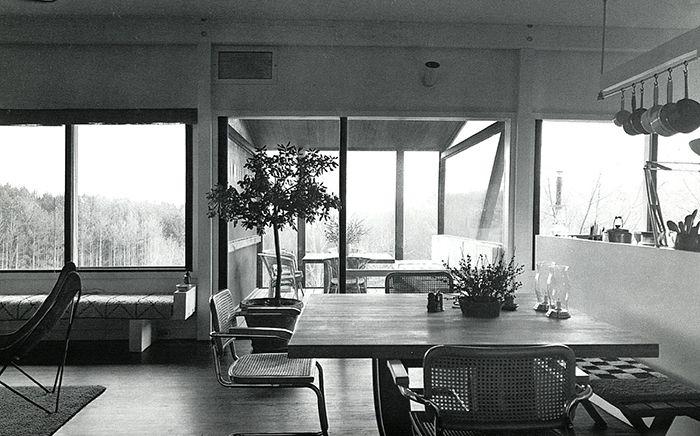 Stillman House Then Now Inspiration Marcel Breuer House