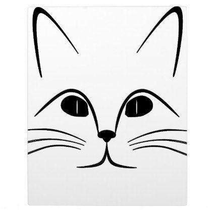 Cat Face Plaque - cat cats kitten kitty pet love pussy   kittens ...