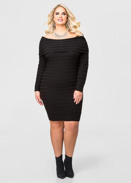621ded8fc4a Colección de vestidos 2016 - Vestidos para gorditas Plus Size Black Dresses