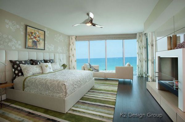 Romantic Bedroom Design Ideas Within Beach Theme Romantic Bedroom Designs  With Bathtub