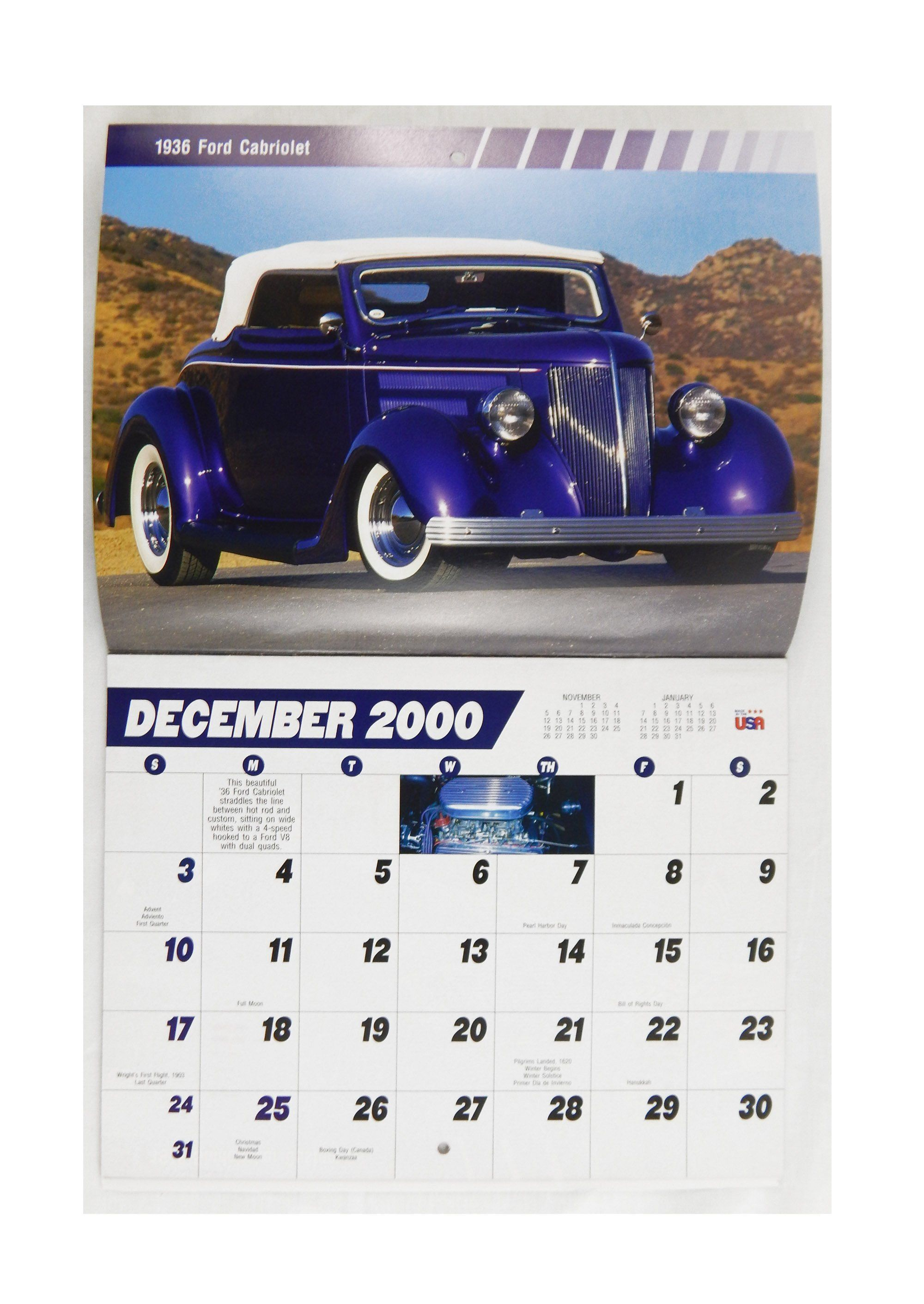 2001 2018 Street Rods 13 Month Appointment Calendar Appointment