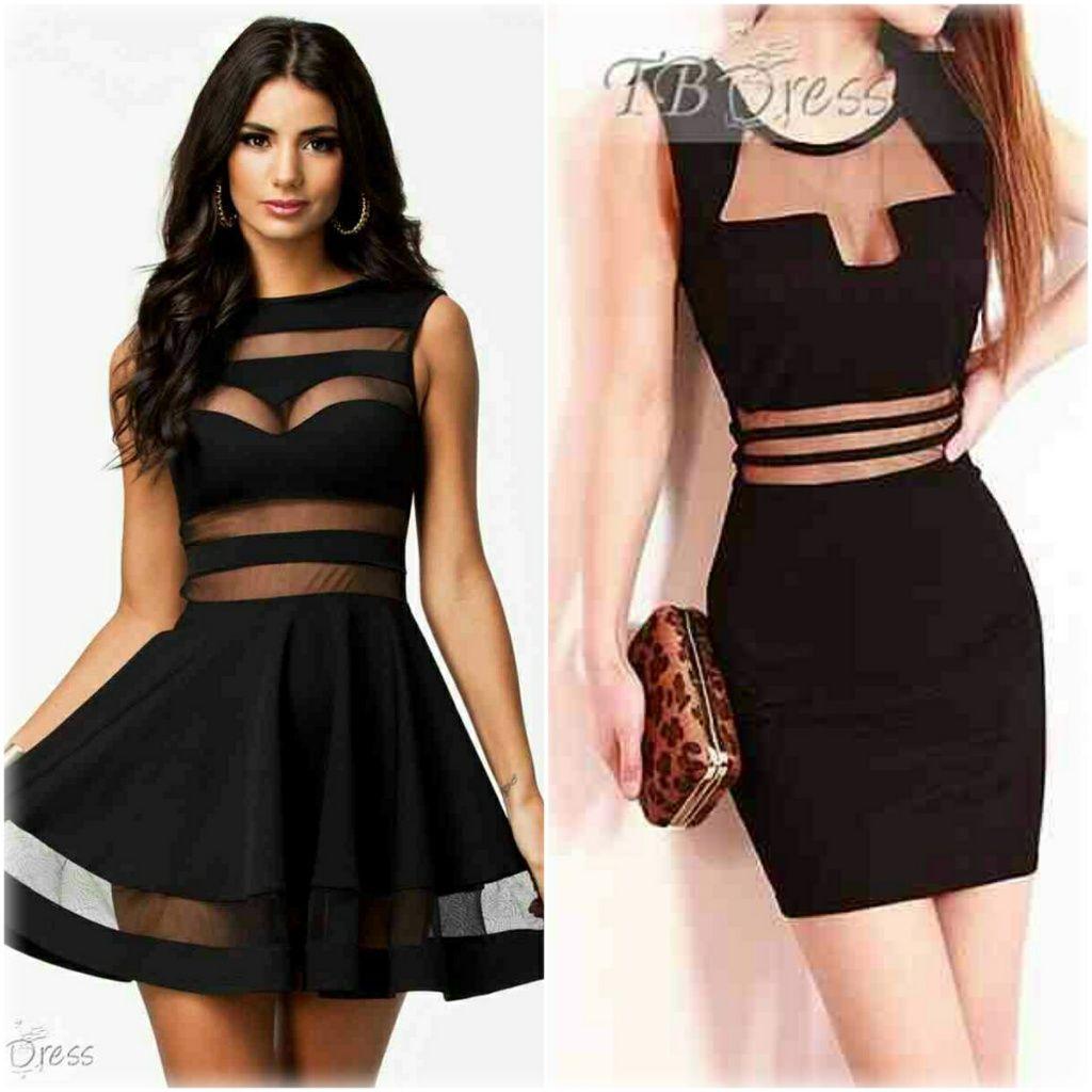 dress tumblr blanco y negro - Buscar con Google | cute outfits ...