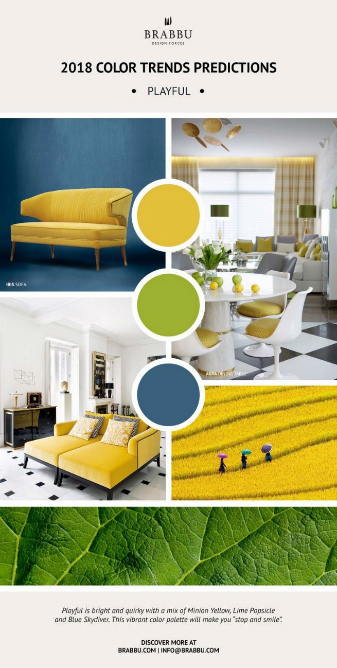 New color trends for home decor