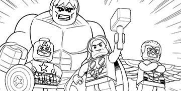 Ausmalbilder Avengers Lego 298 Malvorlage Alle Ausmalbilder