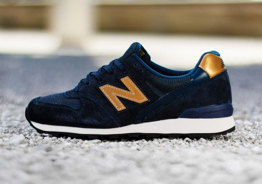 new balance 996 blue gold