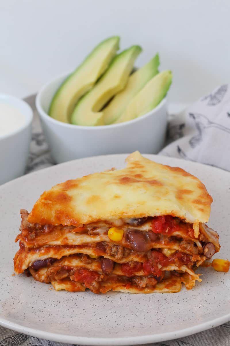 Mexican Lasagne Recipe Lasagne Recipes Mexican Lasagne Food