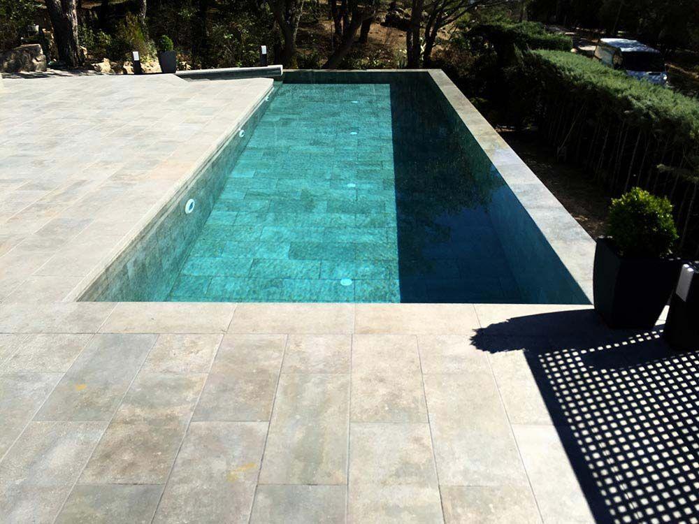 De qu color se ver el agua de mi piscina rosa gres - Suelos piscinas exteriores ...