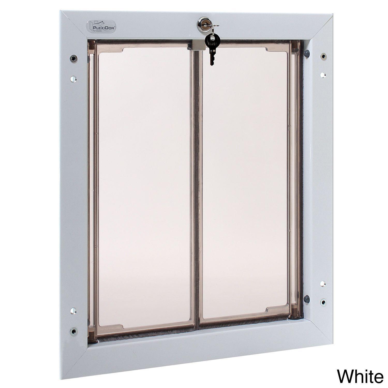 Plexidor Performance Pet Door Large Door Mount Large