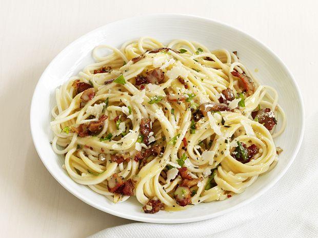Spaghetti Carbonara from FoodNetwork.com