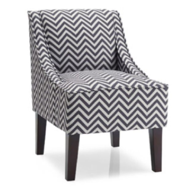Baby Nursery Chair Grey Chevron Wal Mart