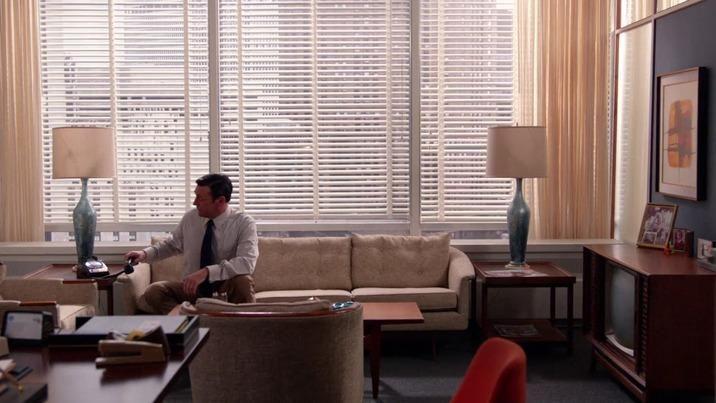 don draper office. Don Draper\u0027s Office Couch - Current Price: $1500 Draper E