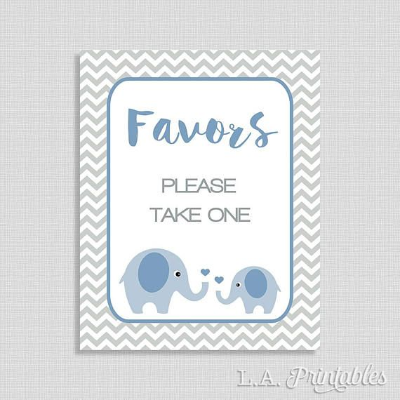 0ab0fa6875d4 Favors Please Take One Sign