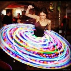 hoop skirt with lights?