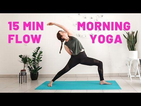 15 minute energizing morning yoga flow  sun salutations